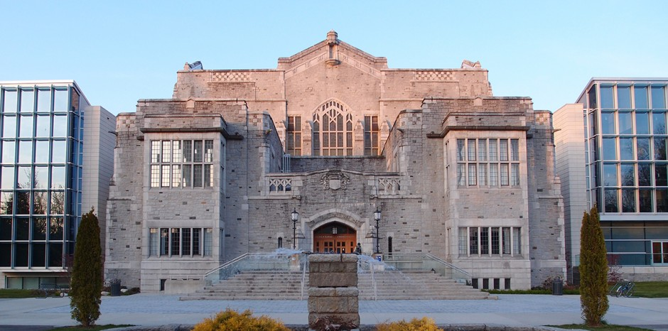 Irving K. Barber Library building