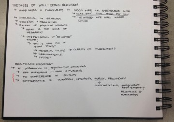 My notes for the course